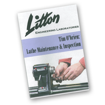 Lathe Maintenance & Inspection DVD (90050-95)