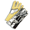 "Aluminized Combination Fabric Gloves - 14"" (A10770-10)"
