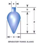 Separatory Funnel Blanks