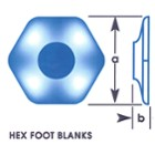 Hex Foot Blanks