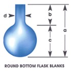 Round Bottom Flask with Rim
